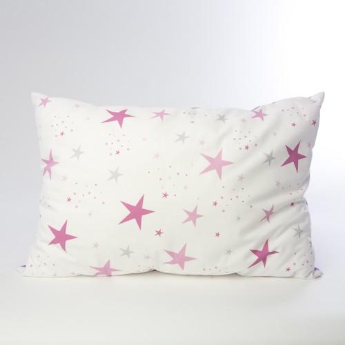 Coussin étoiles magiques violet