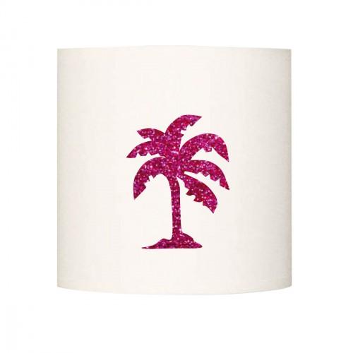 Abat jour ou suspension palmier pailleté personnalisable