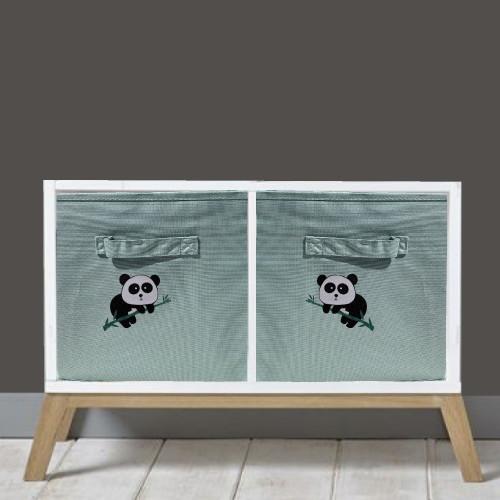 casier de rangement duo panda