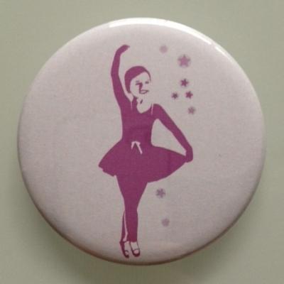 Miroir de poche danseuse