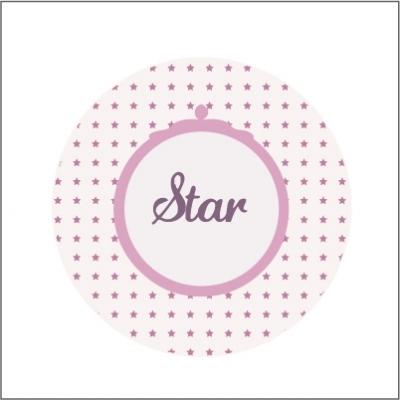 Miroir de poche Star étoiles