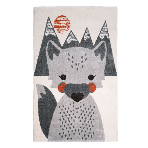 Tapis enfant renard Mr Fox de Nattiot