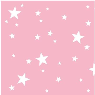 papier peint sissi toiles blanches fond rose lili pouce. Black Bedroom Furniture Sets. Home Design Ideas