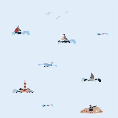Papier peint Balade en mer