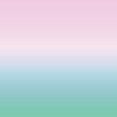 Papier peint ciel rose et vert