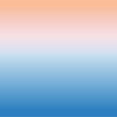 Papier peint décor ciel orange bleu XL