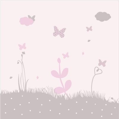 Papier peint d cor nuit toil e l lili pouce boutique for Decoration murale nuit etoilee