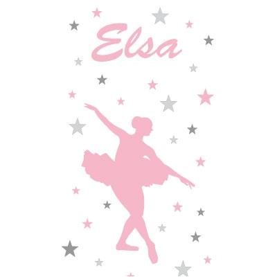 Papier peint danseuse étoile Elsa