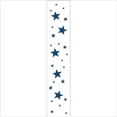 Papier peint Oscar étoiles marines fond blanc