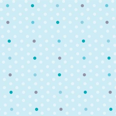 papier peint petits pois bleus et turquoise lili pouce. Black Bedroom Furniture Sets. Home Design Ideas
