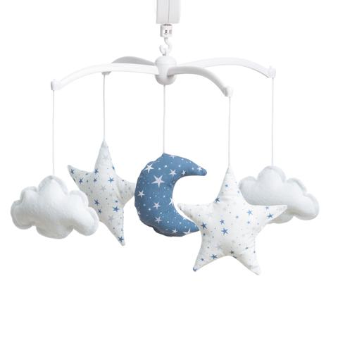 mobile toiles magiques bleu marine lili pouce boutique d co chambre b b enfants et cadeaux. Black Bedroom Furniture Sets. Home Design Ideas