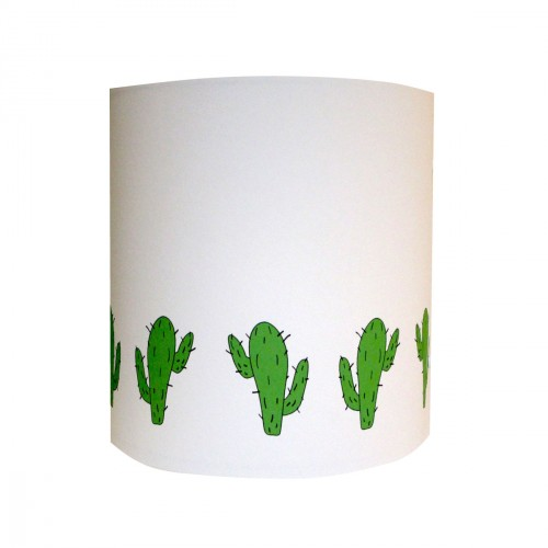 Abat jour ou suspension ribambelle de cactus personnalisable