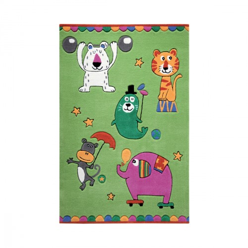Tapis Little Artists vert