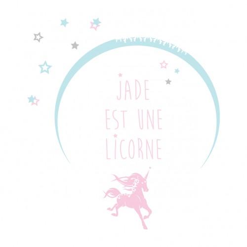 Sticker je suis une licorne