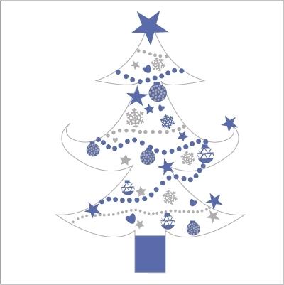 Idee deco sapin noel bleu 1000 id es sur la - Decoration de noel bleu ...