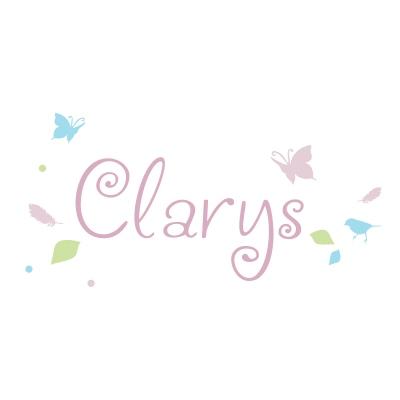 Sticker prénom le printemps de Clarys