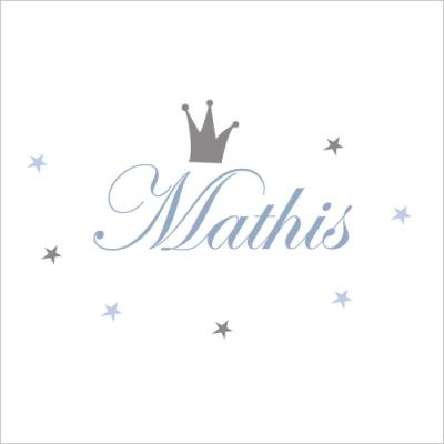 sticker prnom prince mathis