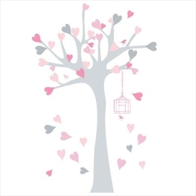 Stickers arbres gants stunning sticker enfant xl l arbre - Arbre japonais rose ...