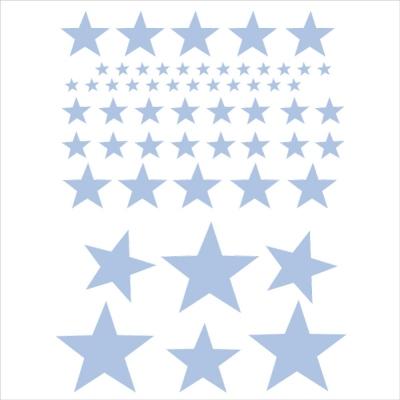 stickers sissi etoiles oscar bleu ciel lili pouce boutique d co chambre b b enfants et. Black Bedroom Furniture Sets. Home Design Ideas