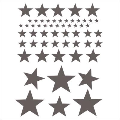 Stickers Etoiles Oscar gris foncé