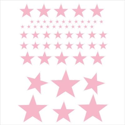 stickers sissi etoiles rose pale lili pouce boutique d co chambre b b enfants et cadeaux. Black Bedroom Furniture Sets. Home Design Ideas
