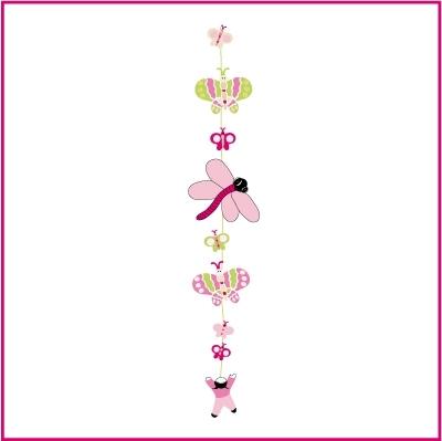 Stickers Guirlande La Danse des Papillons