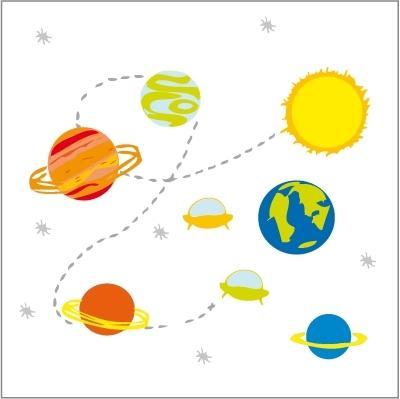 Stickers L'espace
