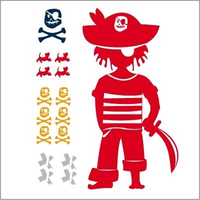 Stickers Le pirate