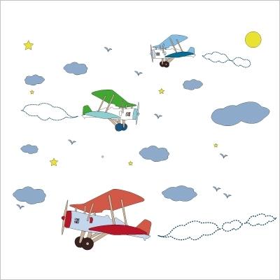 Stickers Le rendez-vous des avions