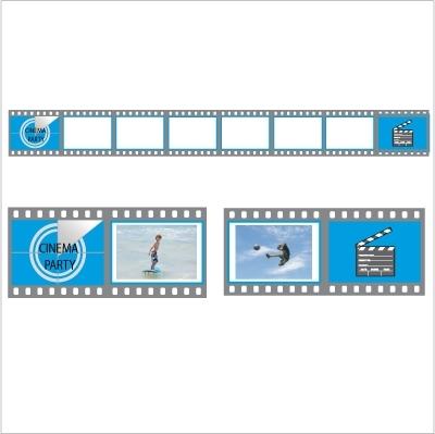 Stickers Les cadres cinéma