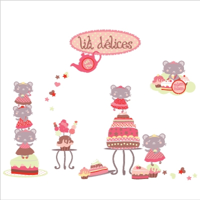 Stickers Lili Délices
