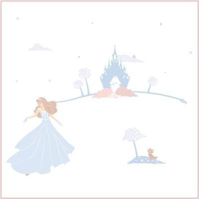 Stickers Rêves de princesse bleue