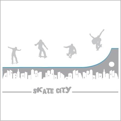 Stickers Skate City