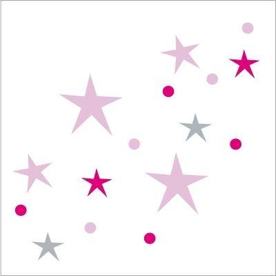 Stickers Sols Chemin d'étoiles