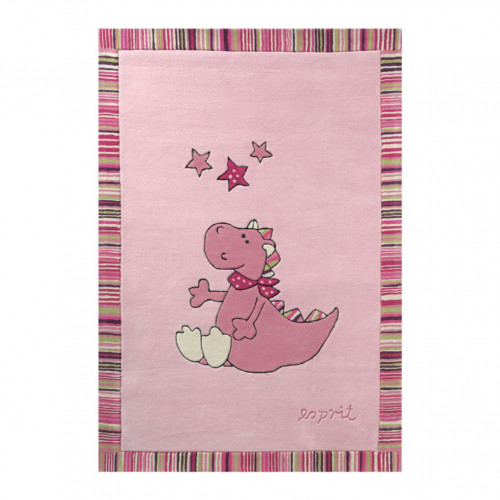 Tapis bébé Sweet Dragon rose