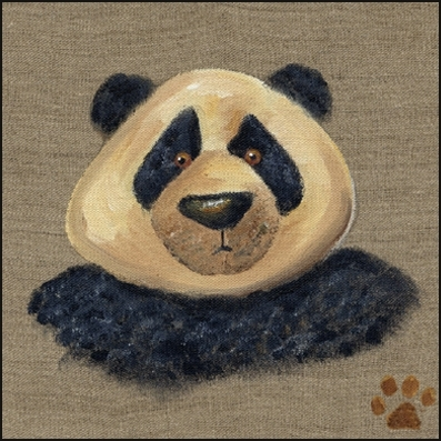 Tableau ours panda