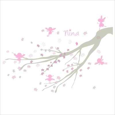 Tableau personnalisable arbre à fées