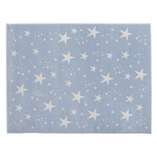 Tapis étoiles magiques bleu ciel
