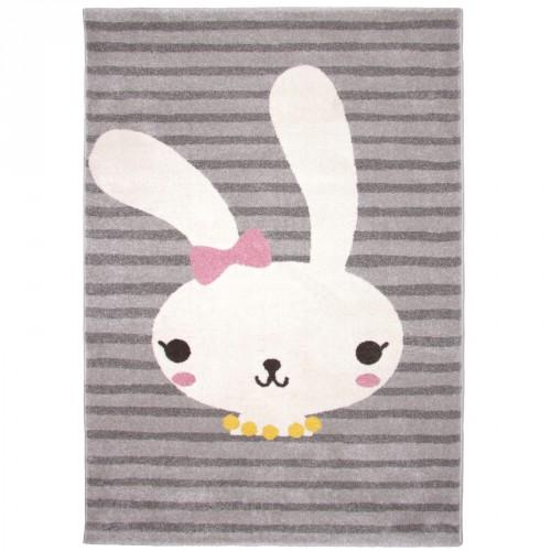 Tapis rayé lapin Bonnie