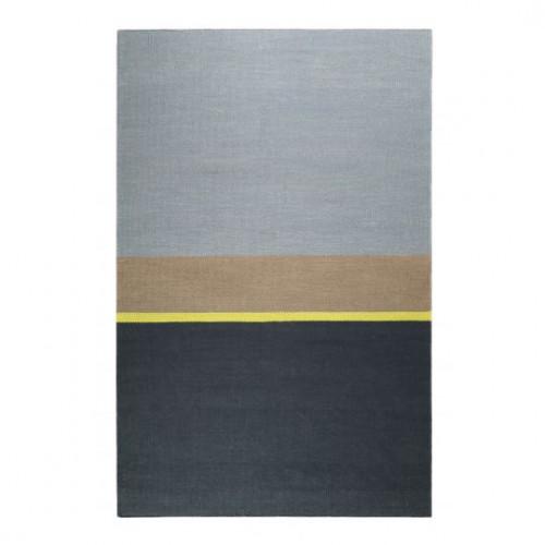 Tapis en coton design Midas Kelim gris
