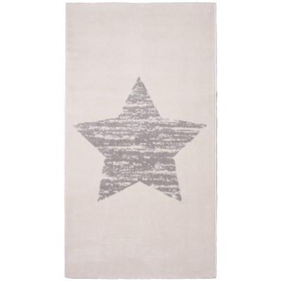 Tapis étoile Lucero écru
