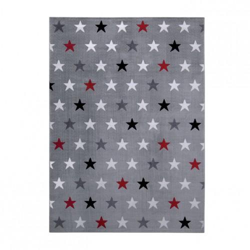 Wecon home tapis toiles starry sky gris - Tapis etoile gris ...