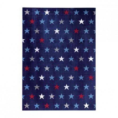 Tapis étoiles Starry Sky Bleu