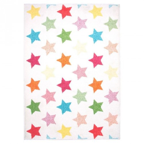 Tapis étoiles multicolores Holly