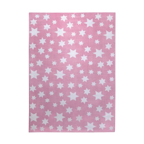 wecon home tapis toiles jean star rose p le. Black Bedroom Furniture Sets. Home Design Ideas