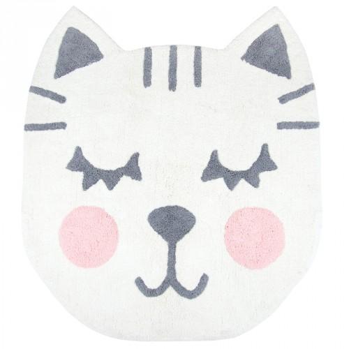 Tapis chat Betsy en coton