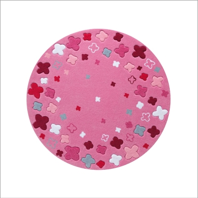 Tapis Bloom Field rose