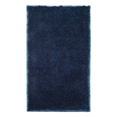 Tapis de bain antidérapant Chill bleu