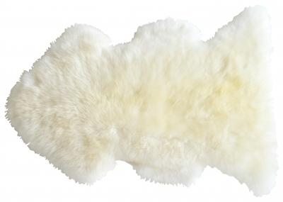 Tapis Doucheka blanc peau de mouton
