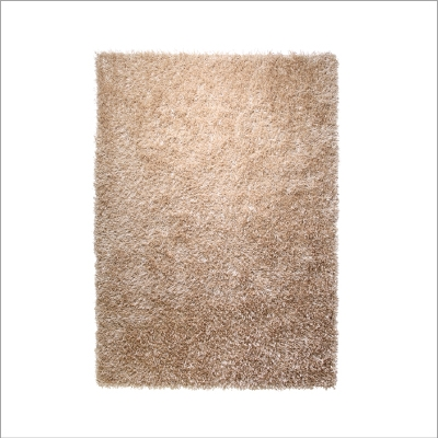 Tapis uni Cool Glamour Beige